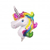 Balon folie metalizat Rainbow Unicorn - 38cm x 25cm