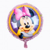 Balon Folie Metalizata Minnie Mouse - 23 cm